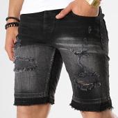 /achat-shorts-jean/classic-series-short-jean-slim-1095-noir-gris-degrade-177455.html