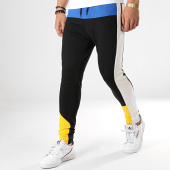 /achat-pantalons-joggings/classic-series-pantalon-jogging-a-bandes-w19091-noir-jaune-blanc-bleu-roi-177540.html