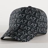 /achat-casquettes-de-baseball/ea7-casquette-train-monogram-275775-8p506-noir-blanc-177449.html