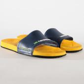/achat-claquettes-sandales/havaianas-claquettes-slide-brasil-4142616-bleu-marine-jaune-177471.html