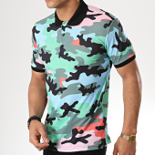 /achat-polos-manches-courtes/ikao-polo-manches-courtes-f405-bleu-clair-vert-camouflage-177549.html