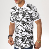 /achat-polos-manches-courtes/ikao-polo-manches-courtes-f436-blanc-camouflage-177553.html
