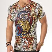 /achat-t-shirts/john-h-tee-shirt-a033-jaune--leopard-177360.html