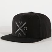 /achat-snapbacks/nixon-casquette-snapback-exchange-noir-177631.html