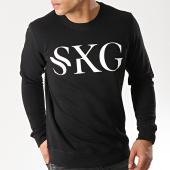 /achat-sweats-col-rond-crewneck/skg-sweat-crewneck-logo-noir-177492.html