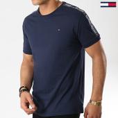 /achat-t-shirts/tommy-hilfiger-jeans-tee-shirt-avec-bandes-0562-bleu-marine-177559.html