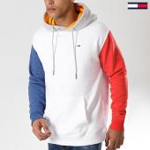 /achat-sweats-capuche/tommy-hilfiger-jeans-sweat-capuche-colorblock-6054-blanc-bleu-rouge-gris-chine-177560.html