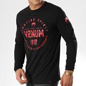 /achat-t-shirts-manches-longues/venum-tee-shirt-manches-longues-signature-noir-rouge-177561.html