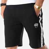/achat-shorts-jogging/wrung-short-jogging-a-bandes-furyo-noir-blanc-177430.html