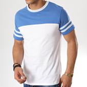 /achat-t-shirts/bellfield-tee-shirt-jesper-blanc-bleu-clair-177806.html