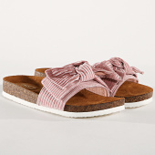 /achat-claquettes-sandales/only-claquettes-femme-velours-mathilda-rose-177726.html