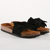 /achat-claquettes-sandales/only-claquettes-femme-velours-mathilda-noir-177728.html