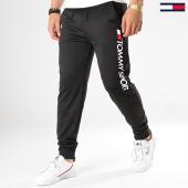 /achat-pantalons-joggings/tommy-sport-pantalon-jogging-vertical-logo-0071-noir-177775.html
