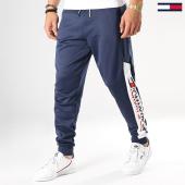 /achat-pantalons-joggings/tommy-sport-pantalon-jogging-avec-bande-leg-logo-0088-bleu-marine-blanc-177776.html