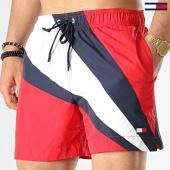 /achat-maillots-de-bain/tommy-hilfiger-short-de-bain-medium-drawstring-1118-blanc-rouge-bleu-marine-177792.html