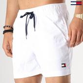 /achat-maillots-de-bain/tommy-hilfiger-short-de-bain-medium-drawstring-blanc-177803.html