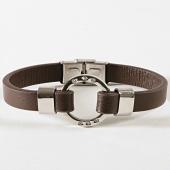 /achat-bracelets/aarhon-bracelet-0310035-marron-argente-177840.html