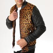 /achat-vestes/classic-series-veste-zippee-fourrure-887722-leopard-noir-177850.html