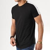 /achat-t-shirts-longs-oversize/gov-denim-tee-shirt-oversize-a-bandes-g18012-noir-177852.html