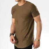 /achat-t-shirts-longs-oversize/classic-series-tee-shirt-oversize-171039-vert-kaki-177880.html