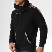 /achat-sweats-capuche/gov-denim-sweat-col-amplified-d015a-noir-leopard-177883.html
