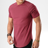/achat-t-shirts-longs-oversize/lbo-tee-shirt-oversize-706-bordeaux-177978.html
