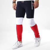 /achat-pantalons-joggings/lbo-pantalon-jogging-tricolore-628-bleu-blanc-rouge-177981.html