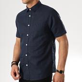 /achat-chemises-manches-courtes/tokyo-laundry-chemise-manches-courtes-larsen-bleu-marine-177868.html