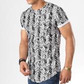 /achat-t-shirts-longs-oversize/aarhon-tee-shirt-oversize-91314-blanc-noir-178223.html