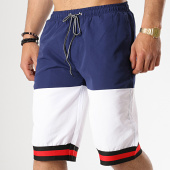 /achat-maillots-de-bain/john-h-short-de-bain-2p015-bleu-marine-blanc-178080.html