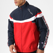 /achat-coupe-vent/champion-coupe-vent-bandes-brodees-213051-rouge-bleu-marine-178102.html