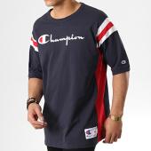 /achat-t-shirts/champion-tee-shirt-213056-bleu-marine-rouge-blanc-178110.html