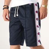 /achat-shorts-jogging/champion-short-jogging-avec-bandes-213075-bleu-marine-blanc-178114.html