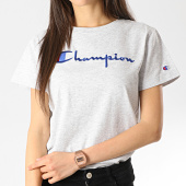 /achat-t-shirts/champion-tee-shirt-femme-110992-gris-chine-178117.html