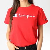 /achat-t-shirts/champion-tee-shirt-femme-110992-rouge-178118.html