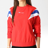 /achat-sweats-col-rond-crewneck/champion-sweat-crewneck-femme-111660-rouge-178156.html