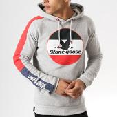 /achat-sweats-capuche/classic-series-sweat-capuche-avec-bande-fast-gris-chine-178254.html
