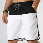 /achat-maillots-de-bain/john-h-short-de-bain-2p012-noir-blanc-178053.html