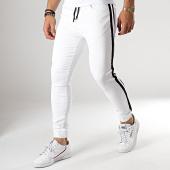 /achat-jogger-pants/john-h-jogger-pant-bande-brodee-p331-blanc-noir-178055.html