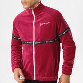 /achat-vestes/sergio-tacchini-veste-zippee-original-37860-bordeaux-noir-velours-178152.html
