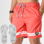 /achat-maillots-de-bain/tokyo-laundry-lot-short-de-bain-et-tongs-jafari-rouge-178078.html