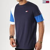 /achat-t-shirts/tommy-sport-tee-shirt-colourblock-0002-bleu-marine-blanc-bleu-clair-178101.html