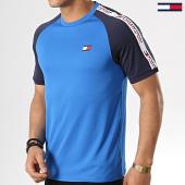/achat-t-shirts/tommy-sport-tee-shirt-de-sport-avec-bandes-tape-detail-0003-bleu-roi-178105.html
