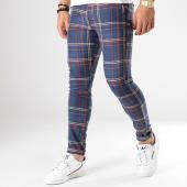 /achat-pantalons-carreaux/classic-series-pantalon-carreaux-m-16-bleu-marine-marron-beige-rouge-178333.html