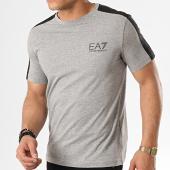/achat-t-shirts/ea7-tee-shirt-a-bandes-3gpt07-pj03z-gris-chine-noir-178386.html