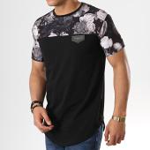 /achat-t-shirts-longs-oversize/gianni-kavanagh-tee-shirt-oversize-gkg001257-noir-floral-178408.html