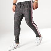 /achat-pantalons-carreaux/gianni-kavanagh-pantalon-a-carreaux-avec-bandes-gkg001316-178410.html
