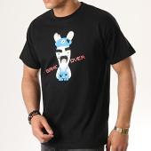 /achat-t-shirts/lapins-cretins-tee-shirt-game-over-noir-178417.html