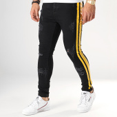 /achat-jeans/sixth-june-jean-skinny-a-bandes-m3757hde-noir-jaune-178487.html