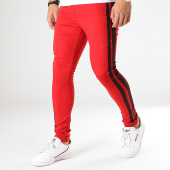 /achat-jeans/sixth-june-jean-skinny-a-bandes-m3758hde-rouge-noir-178491.html
